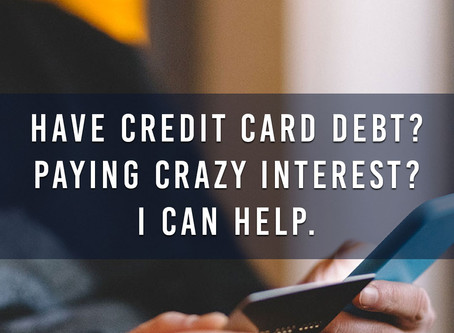Debt weighing you down?  Follow my debt relief link to get started on the path to financial freedom.