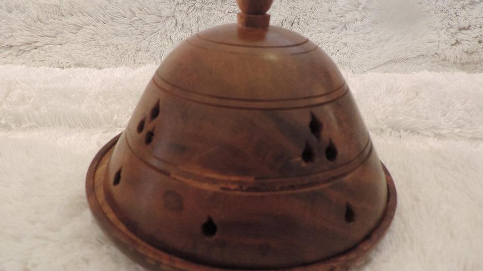 5632 Wooden Dome Cone Burner: SMALL