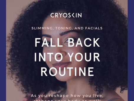 Cryoskin Fall Savings Event!!