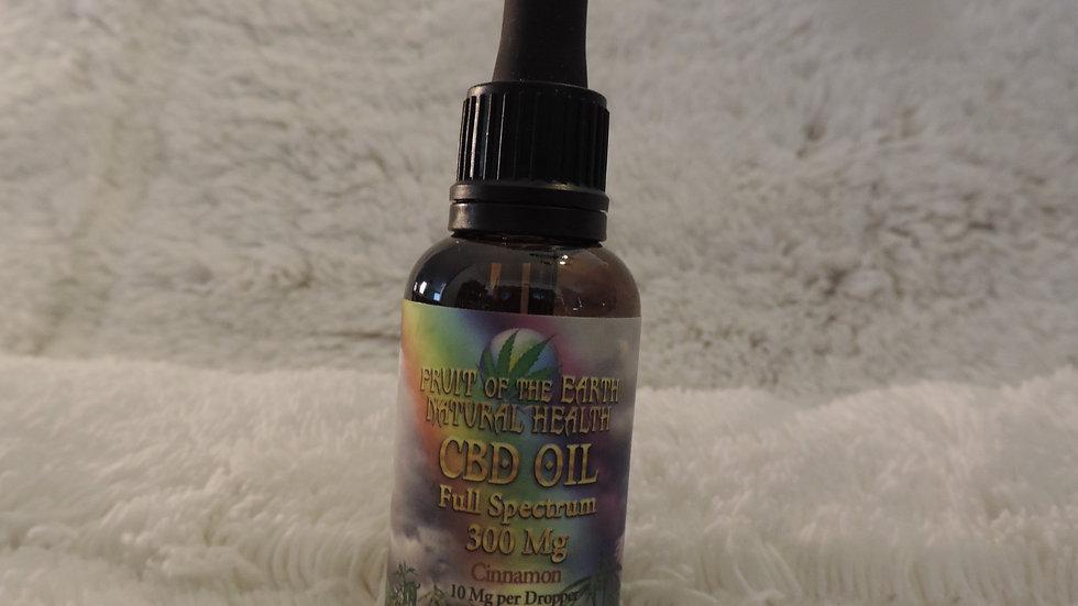 CBD Oil Full Spectrum 300 mg.