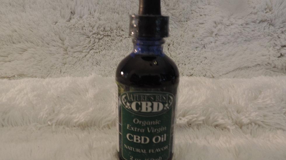 Organic Oil Natural 2 oz.