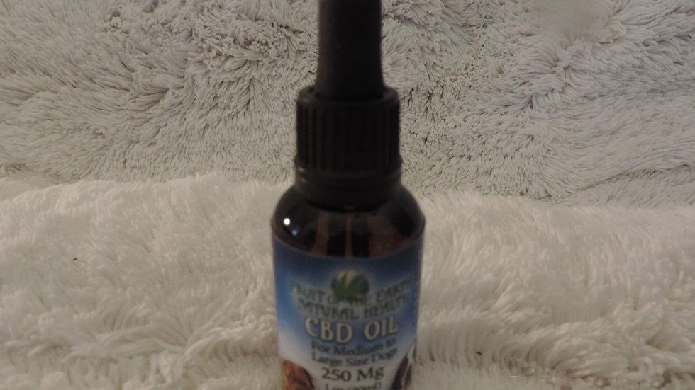 Pet CBD Oil 250 mg.  (Medium to Large)