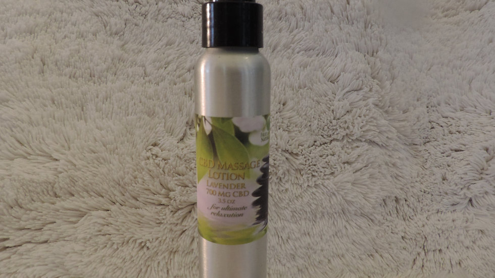 Massage Lotion Lavender 700 mg