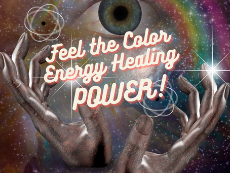 10% off Color Energy Healing Sessions.  In-person appointments available.
