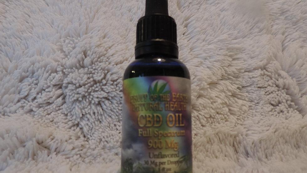 CBD Oil Full Spectrum 900 mg