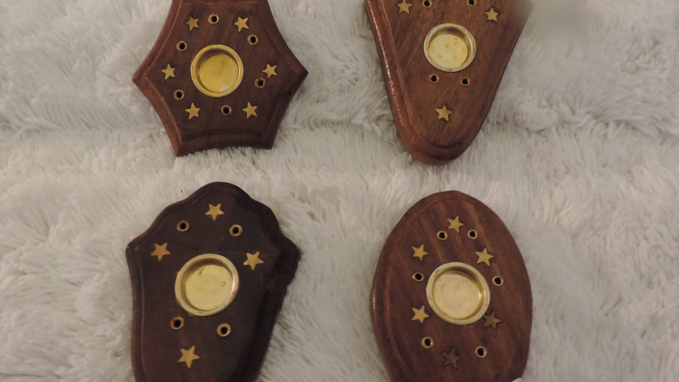 "5642 Wooden Burner Cone & Stick 3"""