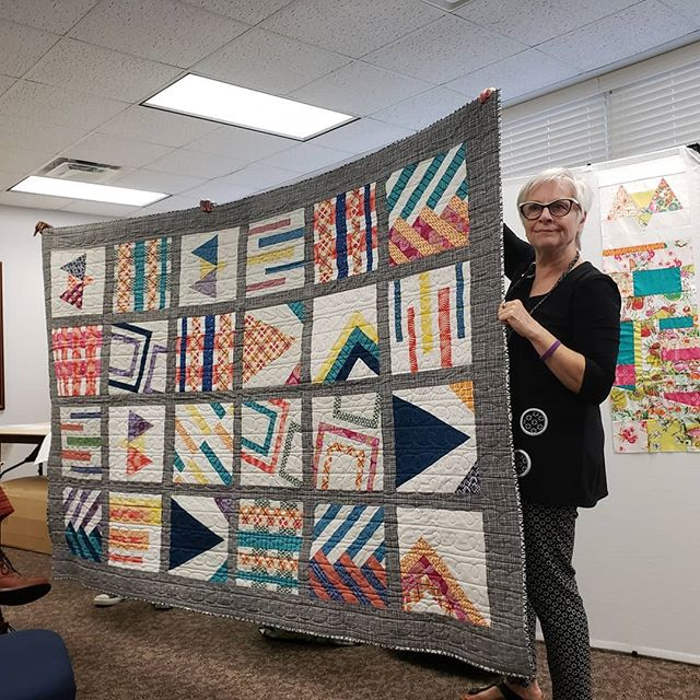 here's a bundle of charity quilts that w