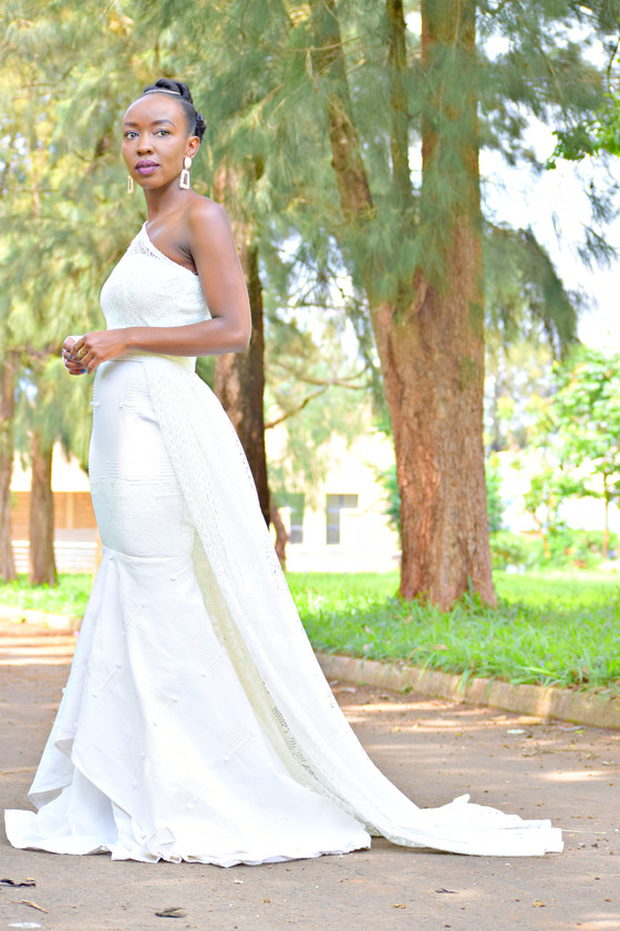 THRIFT TRANSFORMATION: PROJECT # 31: FROM CURTAIN TO WEDDING GOWN| Aimies Closet