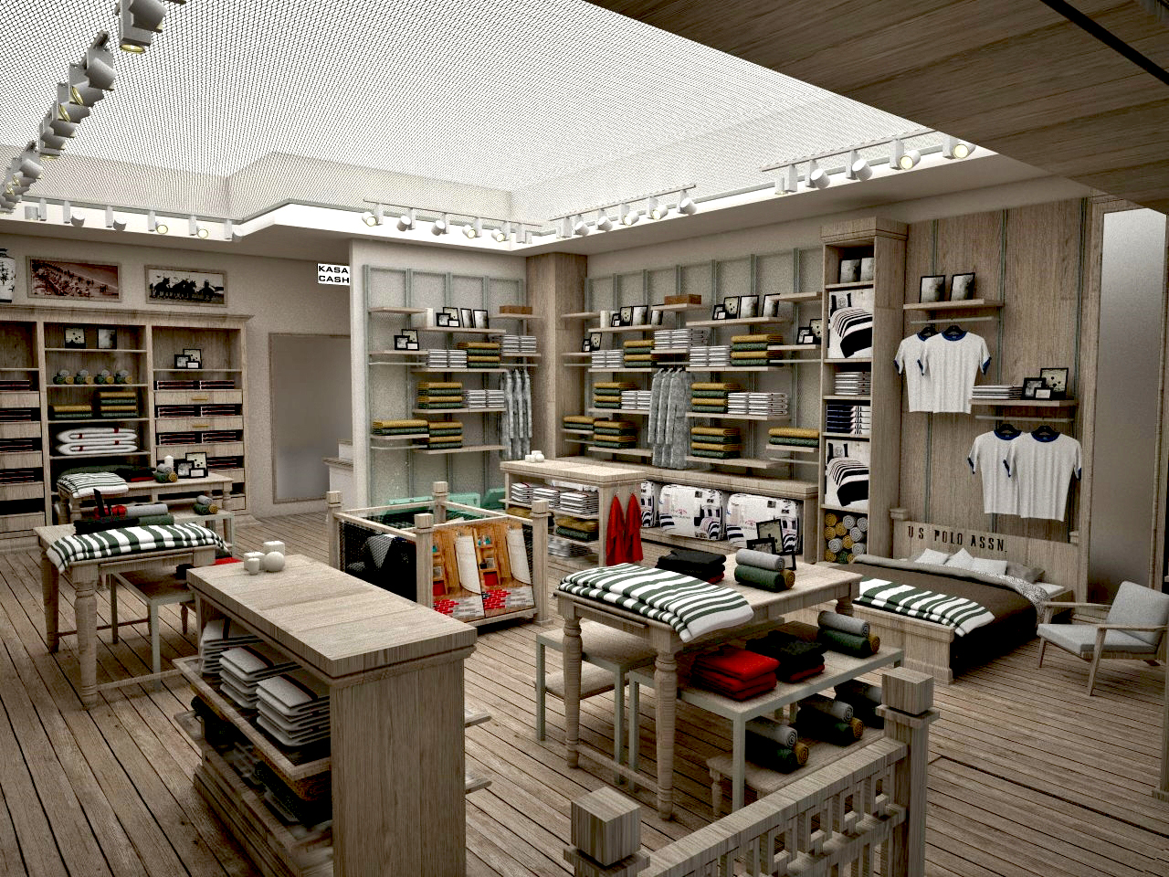 U.S. POLO ASSN.HOME COLLECTION NEW CONCEPT INTERIOR