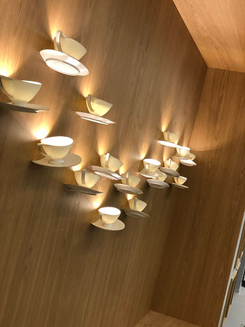 Cups On Wall