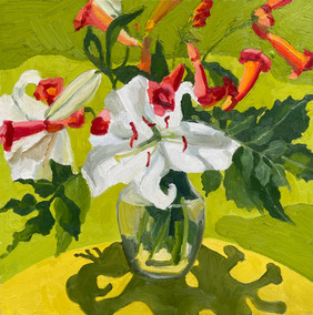 Carnival of Lilies and Trumpets