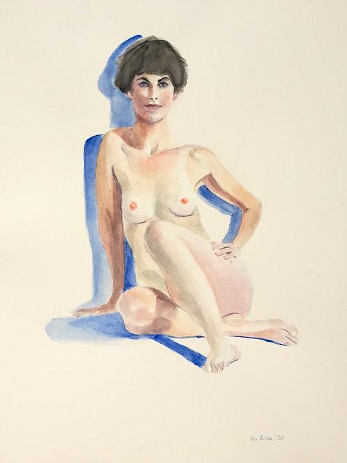 Seated Nude 4