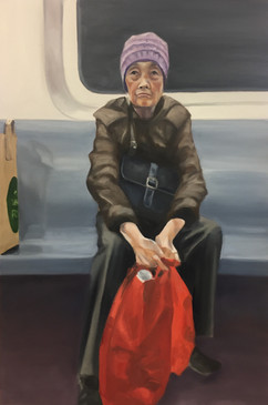 Groceries, F Train, Brooklyn