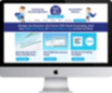 Responsive web design for Bookkeeping4u, Hereford