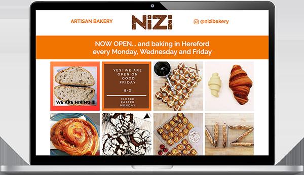 Nizi-website