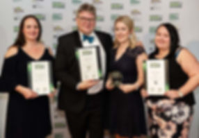 Outstanding Achievement Award 2018 - BBR Optometry Ltd