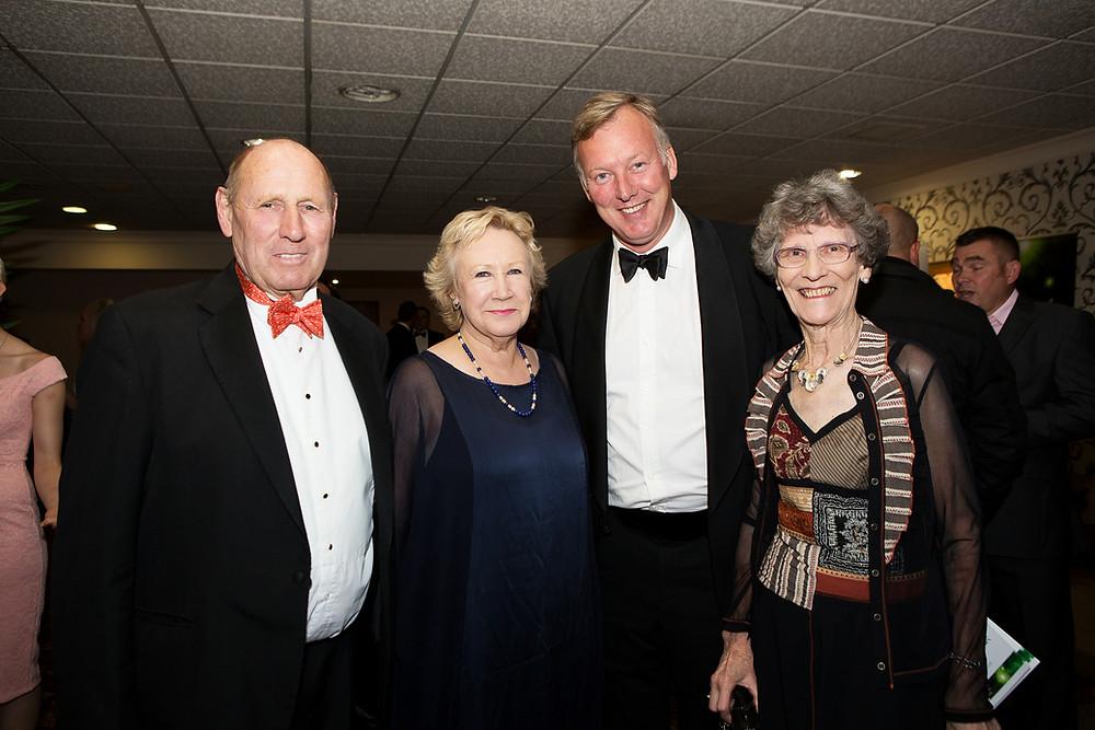 Bill Wiggin MP, Bobbie Heavens MBE (Awards Judge) Helen & Elliott Thomas MD Weston's Cider (Sponsors)