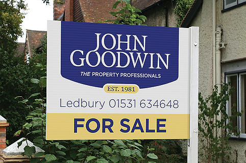 A revised image and re-brand for John Goodwins Estate Agents