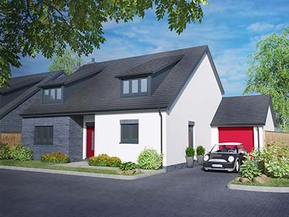 Phase 2 – Available soon... Two contemporary architect designed homes
