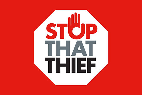 Stop That Thief new logo and brand for start-up