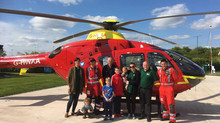 HMBiz Makes a Flying Visit To Our Nominated Charity
