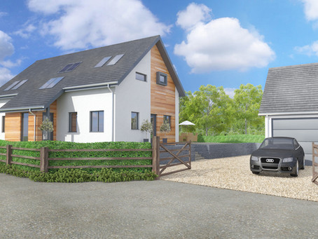 Exclusive 4 and 5 bedroom family homes being built in Hereford City