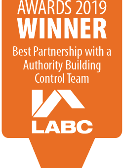 Perfection Homes Win Best Partnership with a Local Authority Building Control Team