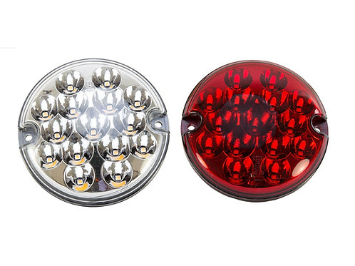 Round LED Reverse and Fog Light