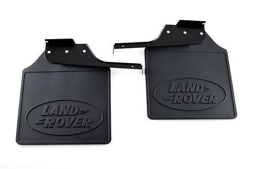 Rear Mud Flaps Defender 110 - Genuine Land Rover
