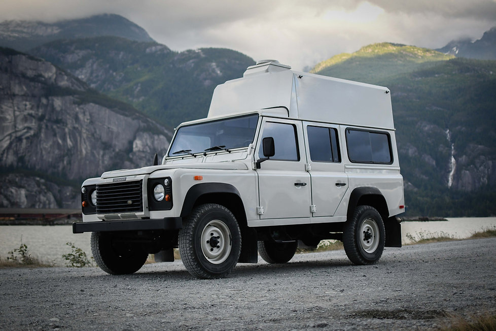 Pacific Off-Road land rover defender 110