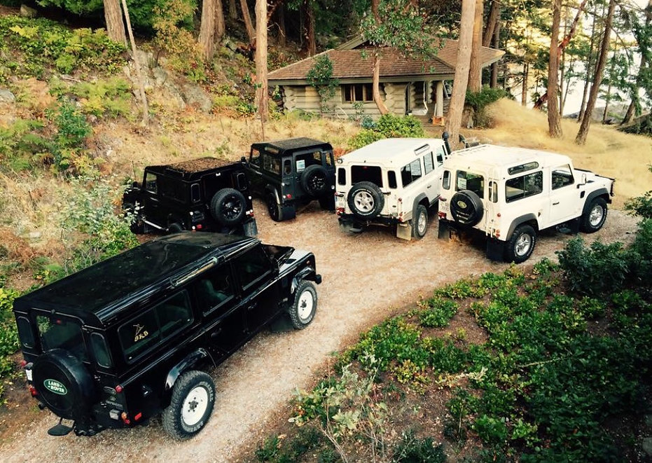 Recent Land Rover Defender Imports