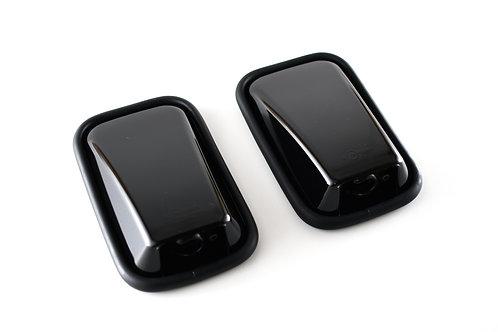 Gloss Black Mirrors - Pair