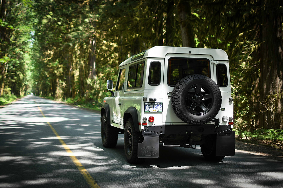 2002 Pacific Off-road Defender 110 BC in
