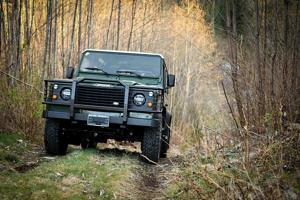 1999 Defender 90 Tdi Green hill climb Pa