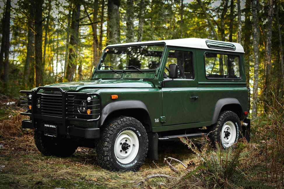 1999 Defender 90 Tdi Green Pacific Off-R
