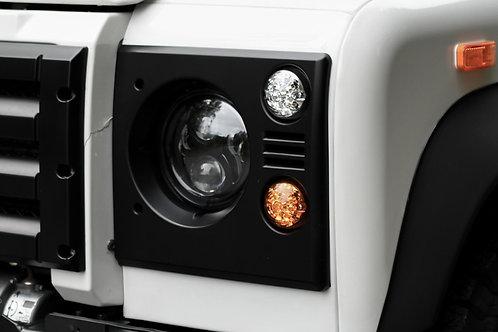 JW Speaker LED Headlights (Pair) +Stainless rings