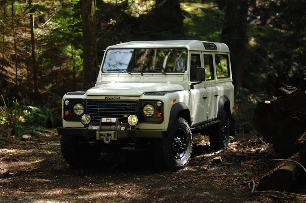 2001 Defender 110 TD5 in West Vancouver with only 68000km
