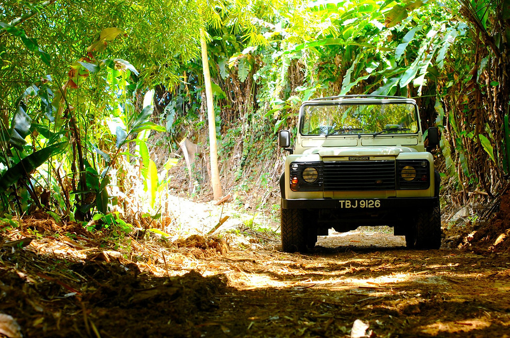 My passion for the Defender all began in the year 2000, at my parents new property in Trinidad & Tobago