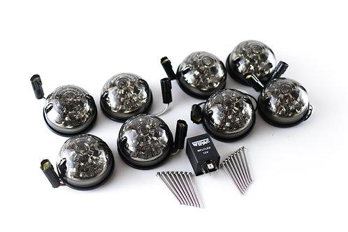 Smoked LED Corner Light Kit