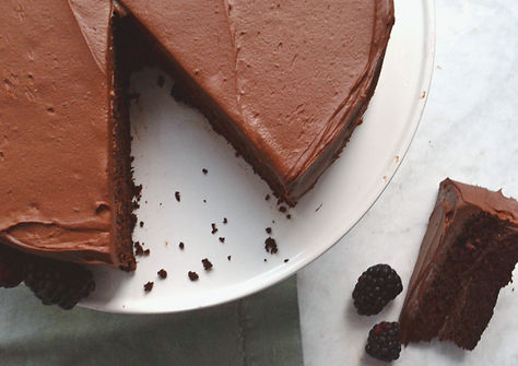 the gluten free chocolate quinoa cake