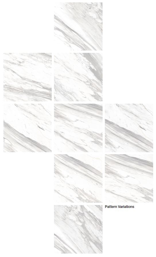Dongpeng Bianco Carrara Pattern Variatio
