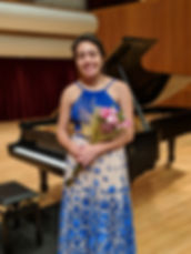 Student piano recital in Comstock Hall