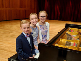 Connor, Sophia, Alexis performed Whisper in the Wind