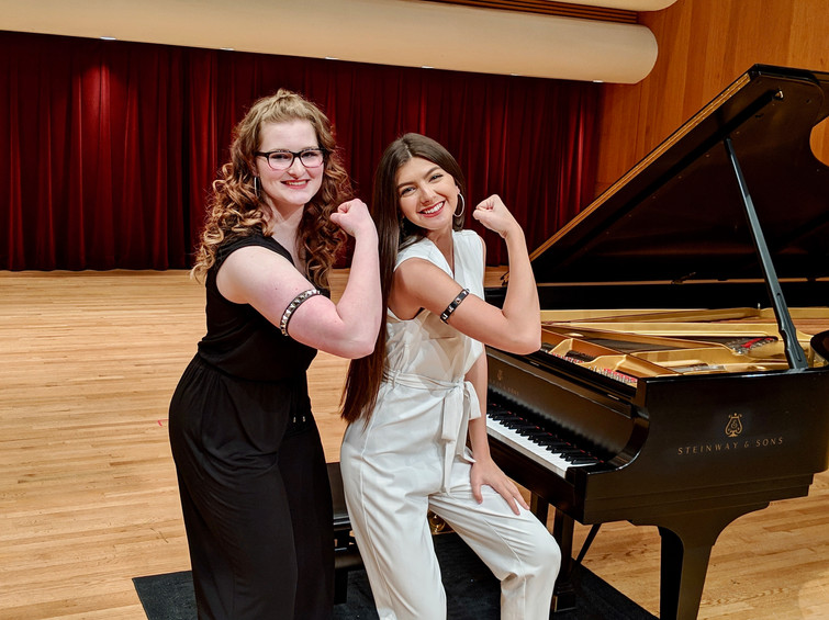 Samantha & Madison performed Bohemian Rhapsody