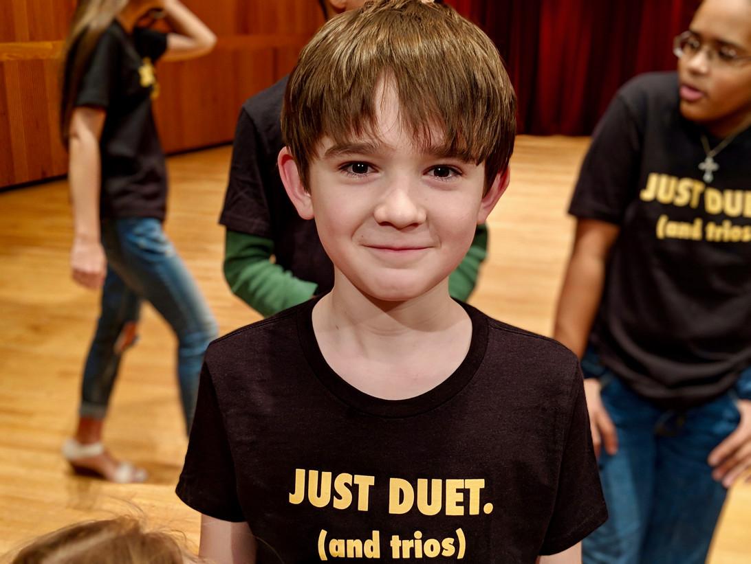 Sean in duet concert t-shirt