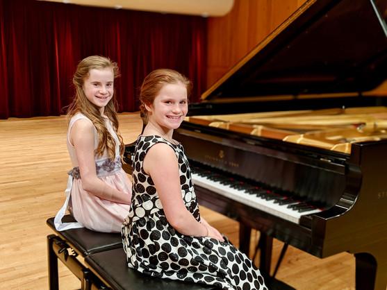 Kiely & Emma performed Indian Summer