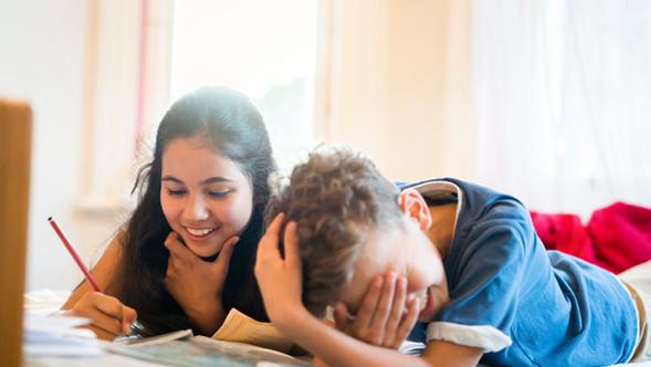 Barn Läxläsning