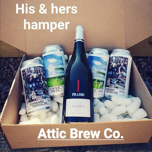Attic His & Hers Hamper