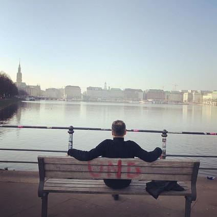 Hamburg hatırası 🎵🥁😎 #kurtalanekspres