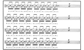 Paradiddle exercise ( Bass drum and Snare ).jpg
